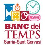 Logotip del Ban del Temps de Sarrià - Sant Gervasi