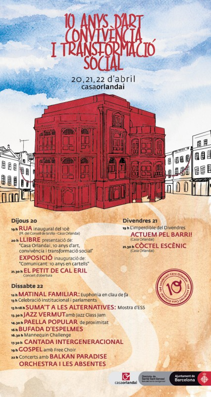 cartell aniversari-Desé-Ajuntament